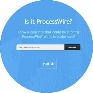 Is it ProcessWire?
