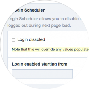 Login Scheduler