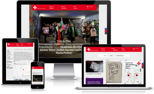Site of the week for ProcessWire Weekly #219: Public Art Vienna